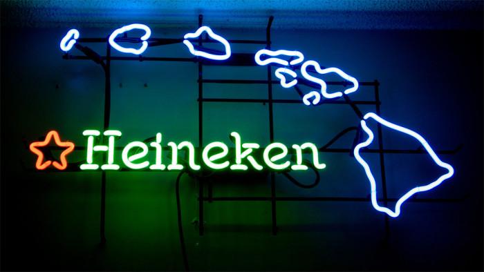 8) Unlike most of the country, Heineken is the most popular beer in Hawaii.