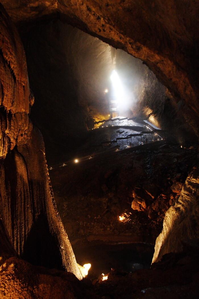 8. Marvel Cave, Silver Dollar City, Branson