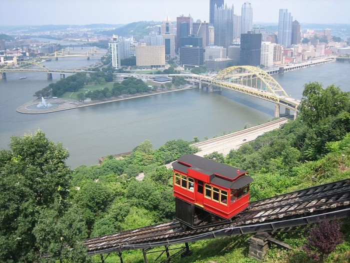 4. The Duquesne Incline in Pittsburgh