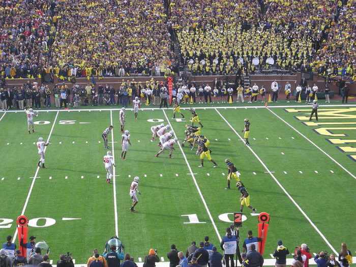 8) Michigan versus Ohio State is one of the biggest rivalries in all of sports...