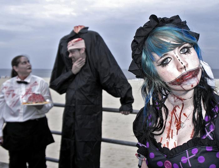 2. Asbury Park Zombie Walk