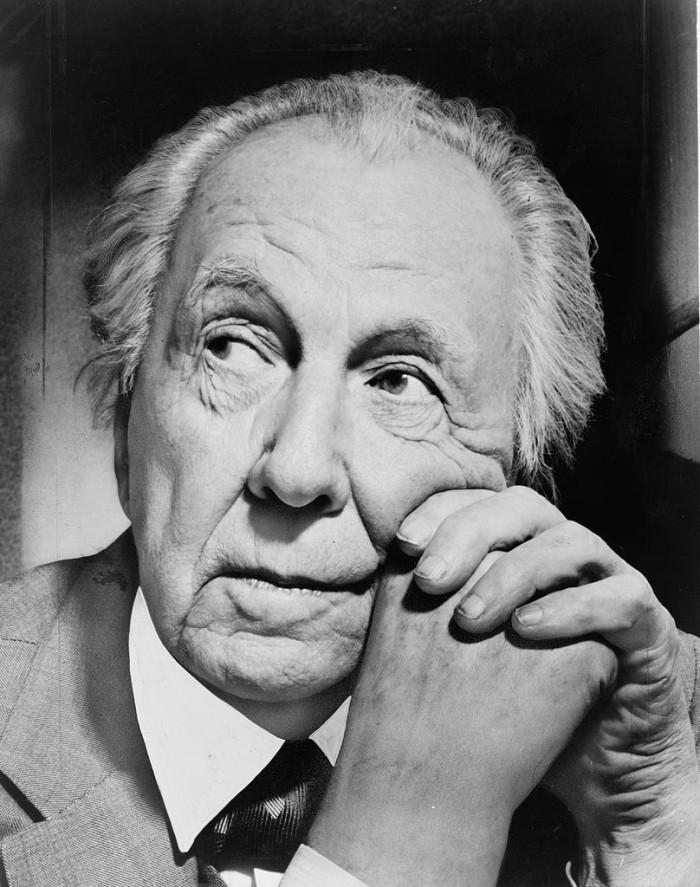4. Frank Lloyd Wright, 1959