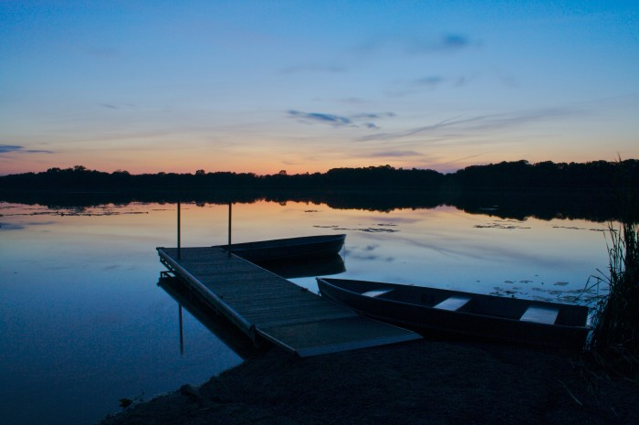 1. Lake Maria State Park, a bit north of the Twin Cities, is one of the least visited parks, and it's stunning. It is usually quiet and peaceful, so it's perfect for getting away.