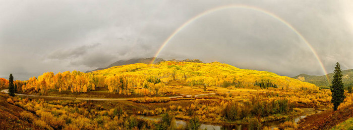 9.) Kebler Pass (Crested Butte)