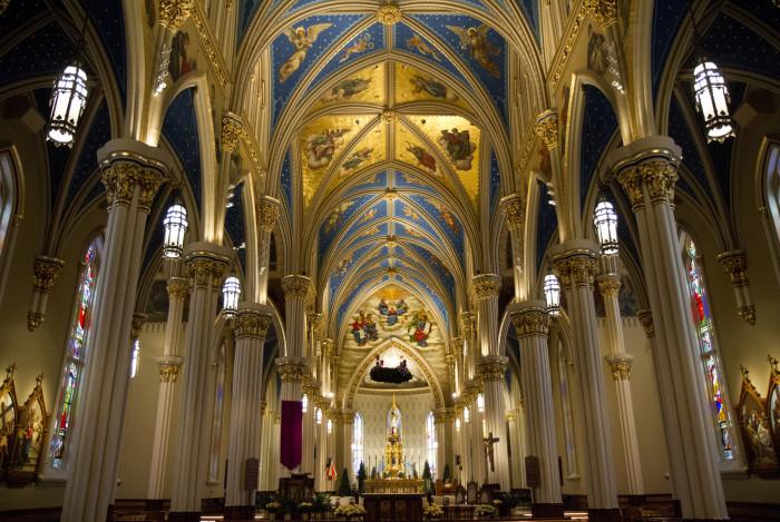 10. Inside the Basilica of The Sacred Heart