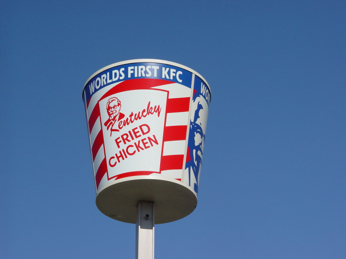 10. We Were Home to the World's First KFC