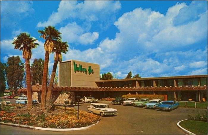 11. This image comes from a postcard of the Valley Ho in Scottsdale, not long after its opening in 1956.