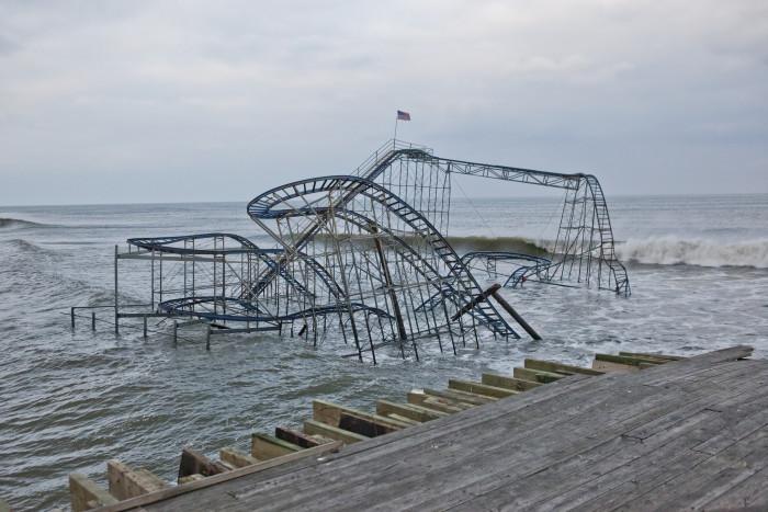 12. Casino Pier After Hurricane Sandy