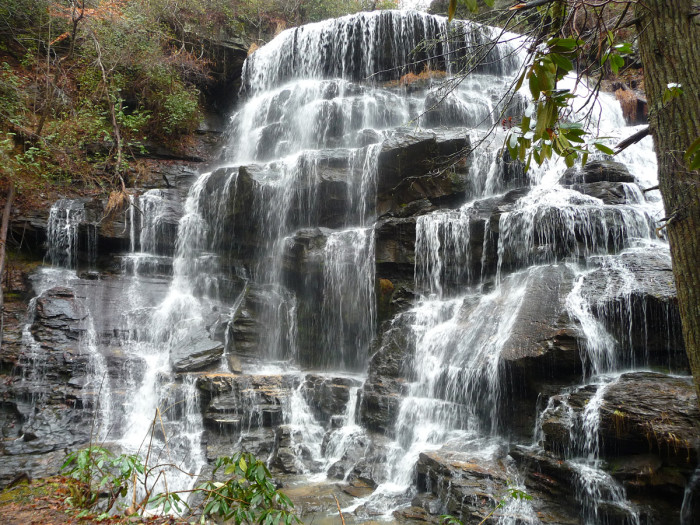 5. Yellow Branch Falls Trail, Walhalla
