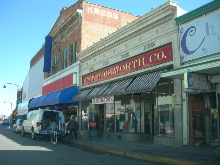 7. You shopped at Montgomery Wards, Diamond's, Smitty's, or Woolworth's for family goods.