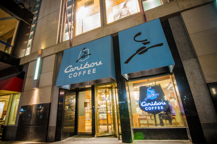 9. Caribou is the coffee of choice here. It's much easier to find than Starbucks.