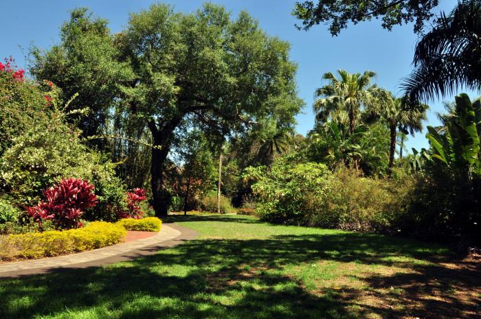 5. Sunken Gardens