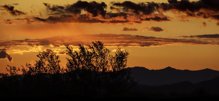 8. Amazing sunsets.