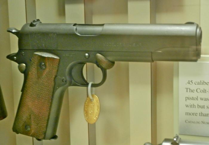 2) Colt .45