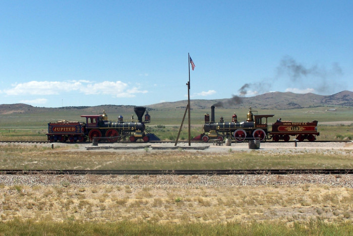 1) The Completion of the First Transcontinental Railroad (1869)