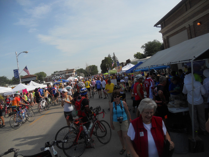 7. Eat, drink, and be merry at RAGBRAI