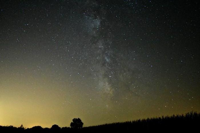 8. Go star gazing on a clear night.