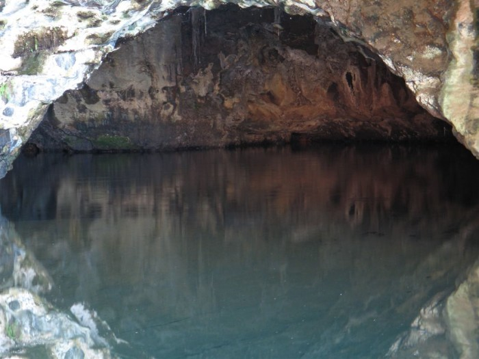 9) This little unnamed cave on Kauai is absolutely breathtaking.