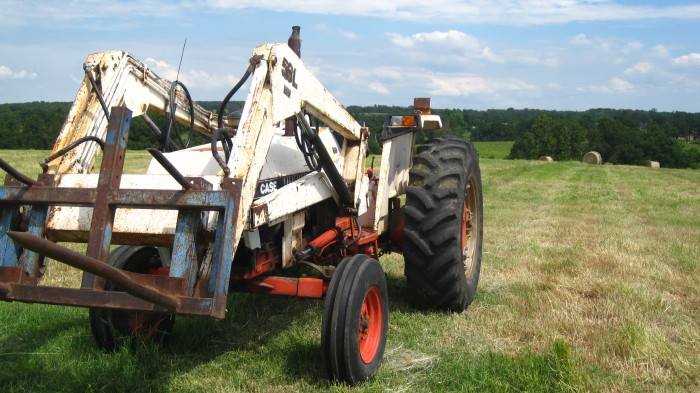 9. Hay baling fun!  The photographer said this was at Anderson Farms, but not the actual location, other than Missouri.