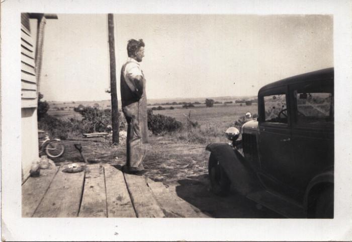 9.  Joseph Moffet in Ridgeway Missouri - 1920's or 1930's