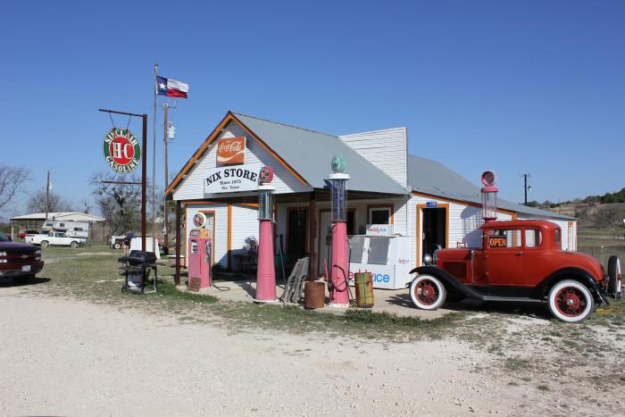 1) Nix General Store in Nix, Texas