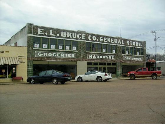 9. E. L. Bruce Co. General Store, Bruce