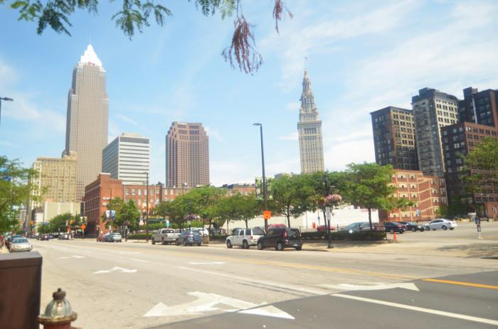 5) Cleveland