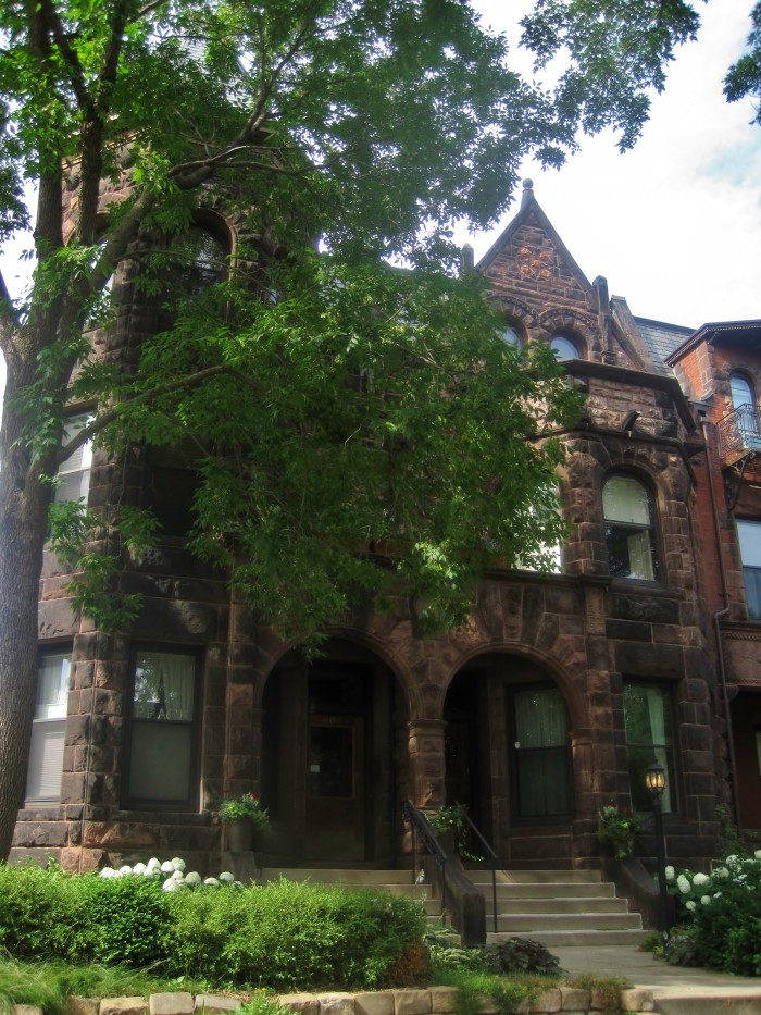 6. The F. Scott Fitzgerald House in St. Paul not only has an intriguing exterior, but is also a National Landmark!