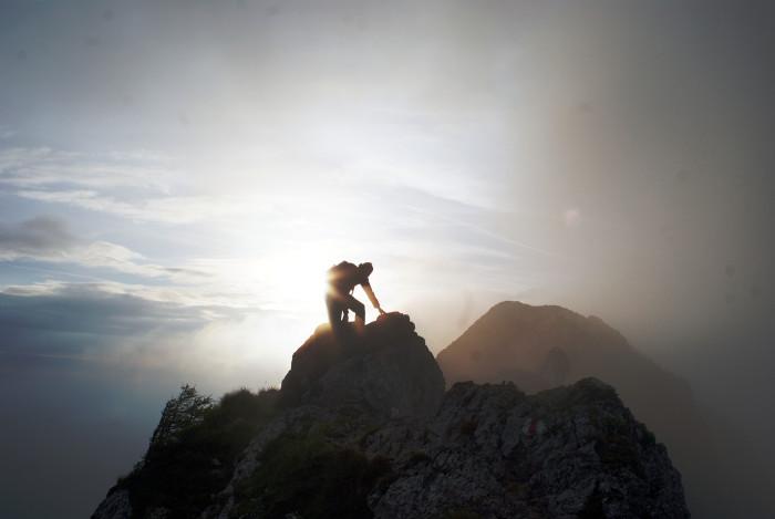 7. Mountain climbing.