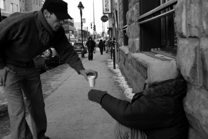 12) Passing up the opportunity to help someone