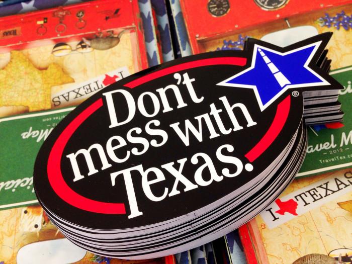 10) Hating on Texas.