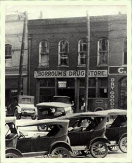 9. Borroum's Drug Store, Corinth