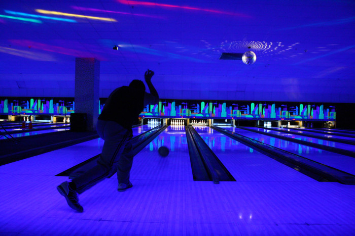 9. Challenge your friends to a bowling match