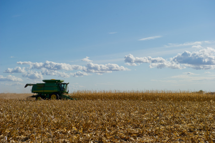9. And while all this is going on, we still manage to produce enough corn and soybeans for the entire nation.
