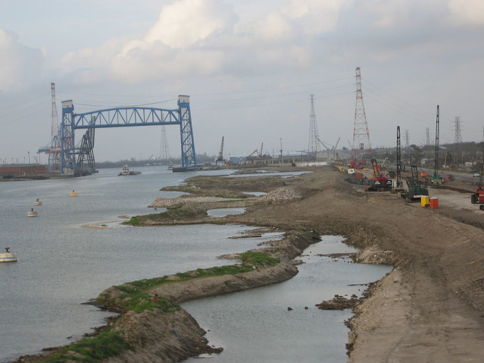 4) Failure of Lower 9th Ward Levees
