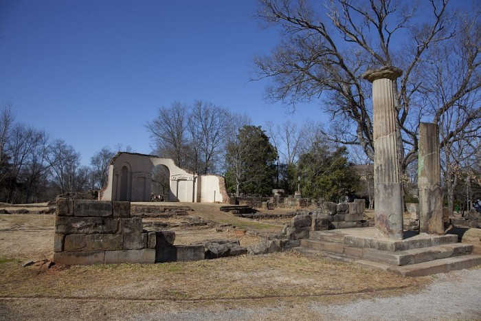 Old Capitol Building Ruins, Tuscaloosa, 2010
