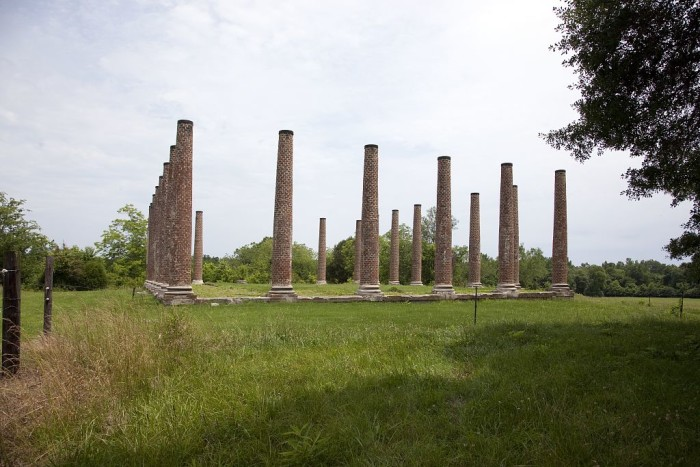 Forks of Cypress Ruins, Florence, 2010