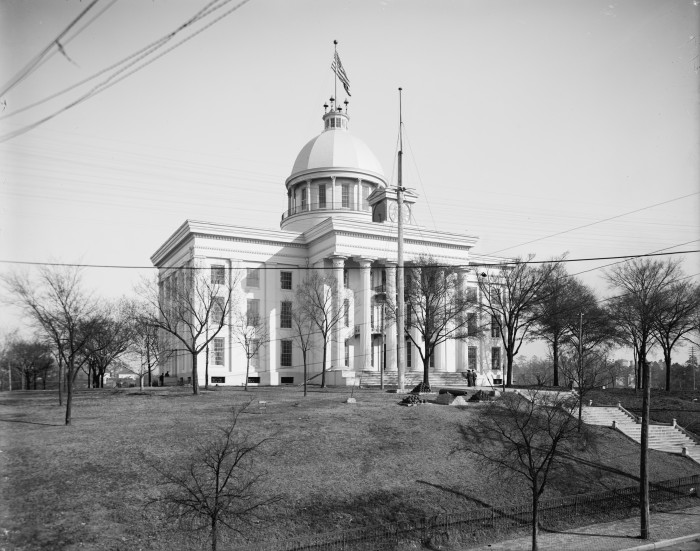 6. State Capitol Building, Montgomery, 1906