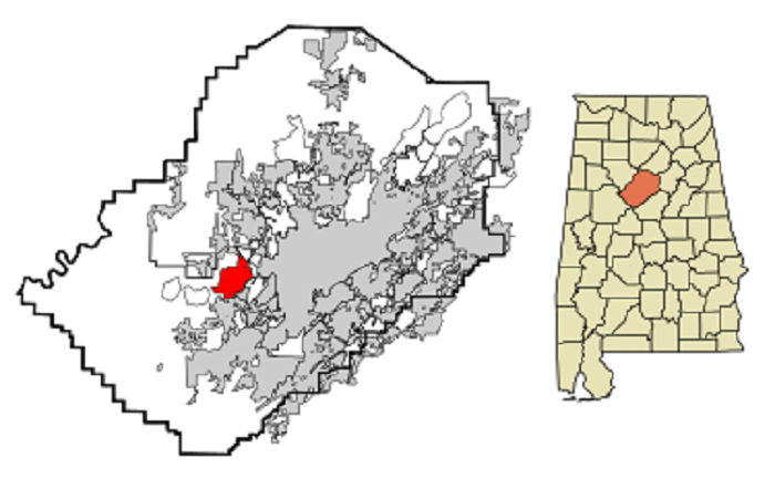 8. Pleasant Grove, AL (Population: Approx. 10,000)