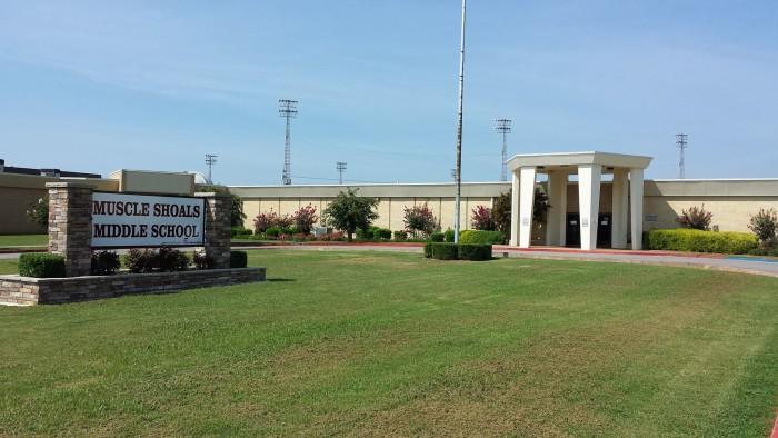 10. Muscle Shoals - Muscle Shoals City Schools