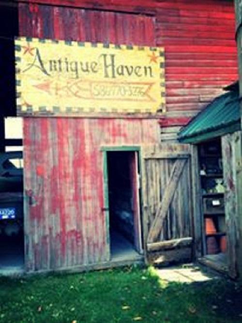 1) Antique Haven, New Haven