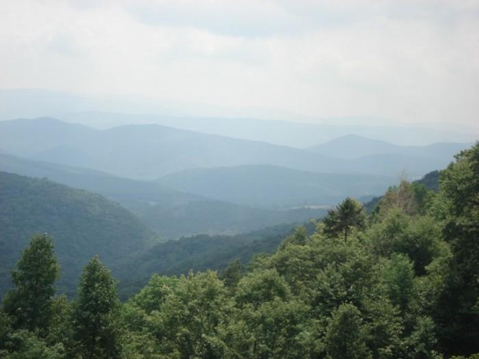 1) Appalachians