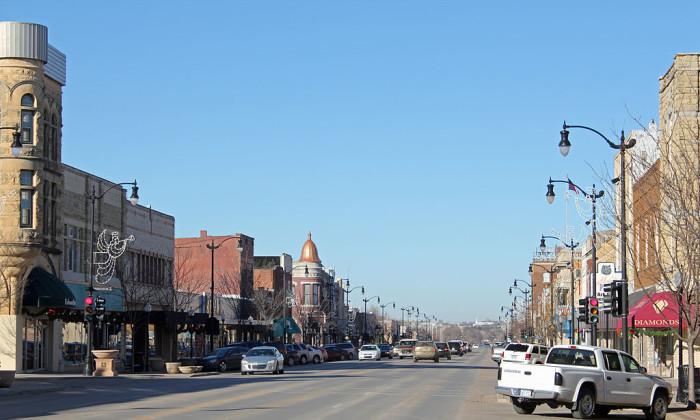 9. Arkansas City (Population: 12,322)