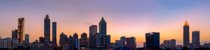 3) Atlanta , GA