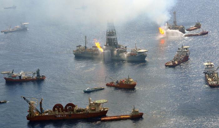 6) The BP Oil Spill