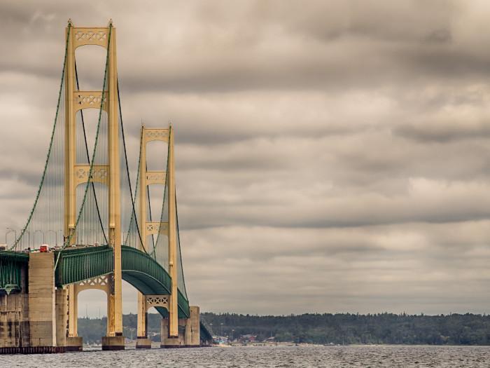 10) Mackinac Bridge