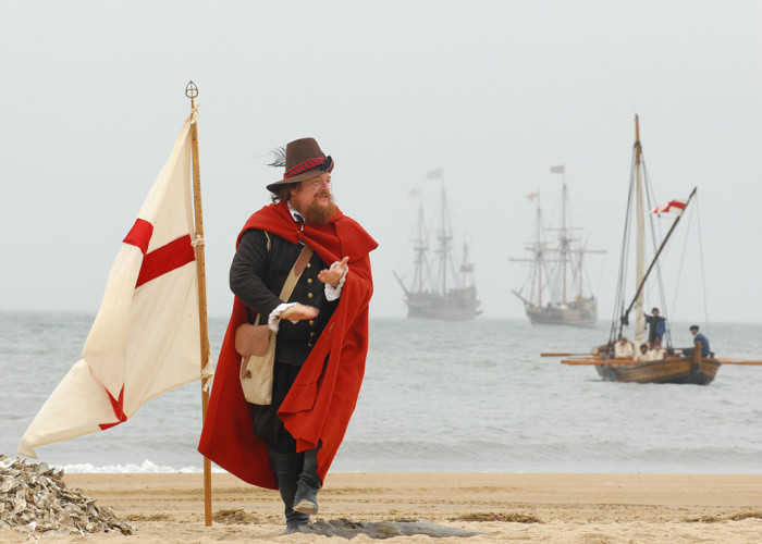 1. April 26, 1607: Colonists landed on Virginia soil to form what would become the first permanent English colony in the United States.