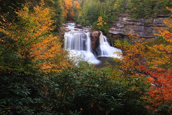 6. Blackwater Falls