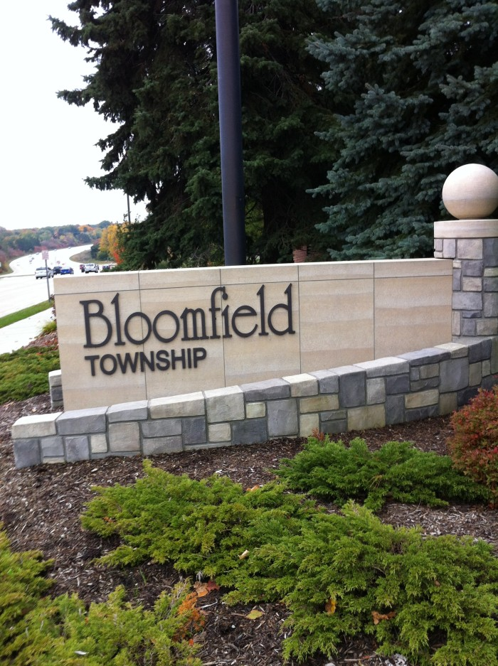 7) Bloomfield Township