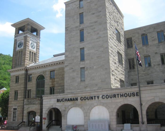 2. Buchanan County: median household income: $29,848